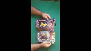 unboxing dos bonecos do Wolverine e Loki do camelo