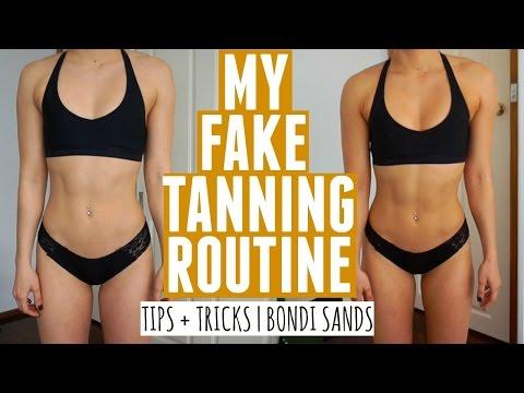 My Fake Tanning Routine | Tips + Tricks