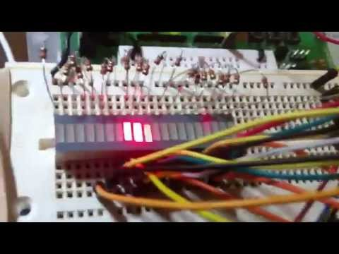 16 LED Chaser w/ PICAXE 08M2 and 74154 (4 to 16 Decoder)