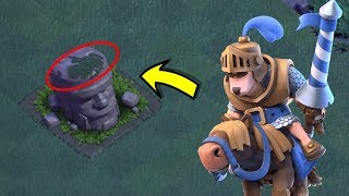 Prince and his pony found in clash of clans ♦Clash of clans new Easter Egg ♦