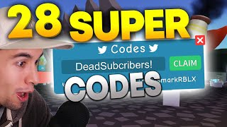 28 SUPER CODES IN Roblox UNBOXING SIMULATOR