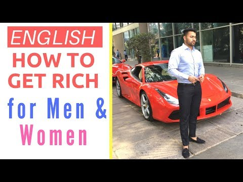 English - HOW TO GET RICH IN 2018 - Part 1  Lifestyle Hacks for Men & Women