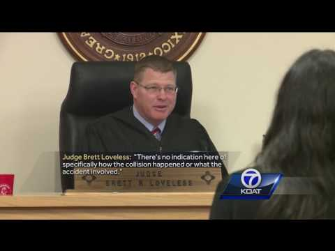 Video: DWI homicide suspect in court