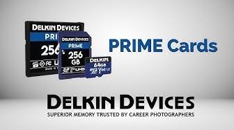 Delkin PRIME Memory Cards by Delkin Devices