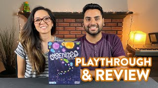 Filler Saturday: Noctiluca  Playthrough & Review