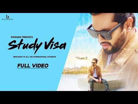 Study Visa |Roshan Prince|  Full Video || New Punjabi Songs 2018 | Boombox