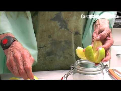 Citrons confits pour tajine par Mamy Monica
