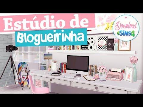 Estúdio de Blogueira   The Sims 4 + Download