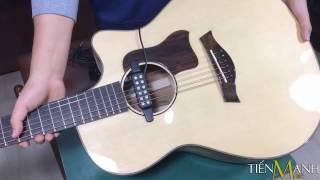 Cách Lắp Đặt Acoustic Guitar Pickup QH-6B - Phần 2
