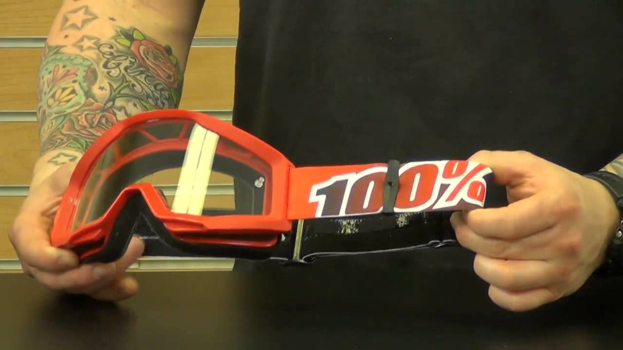 100 Percent Strata Motocross Goggle Review Chapmoto Com Youtube