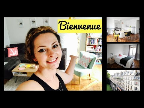 MY PARIS APARTMENT TOUR 2017 & How Much Rent I Pay|Minimalist apartment Paris (French subtitles)