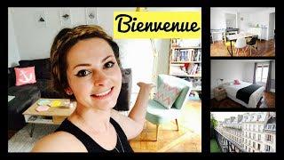 MY 1300€/$1500 PARIS APARTMENT TOUR 2018 Minimalist apartment Paris