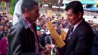 Cambio de Alcaldes Auxiliares en la cabecera municipal