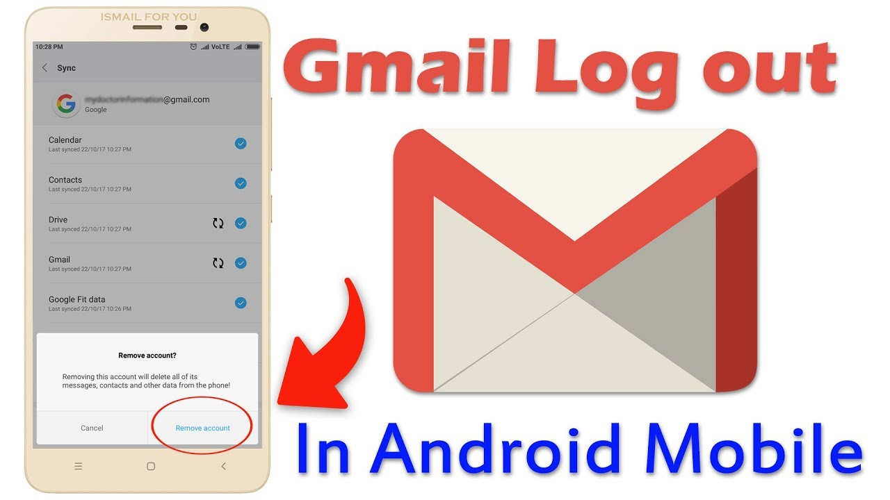 sign out google account android xiaomi
