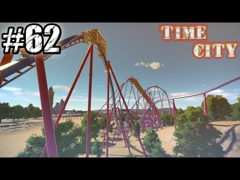 Planet Coaster | Time City | Part 62 | Exterior Queue Line B