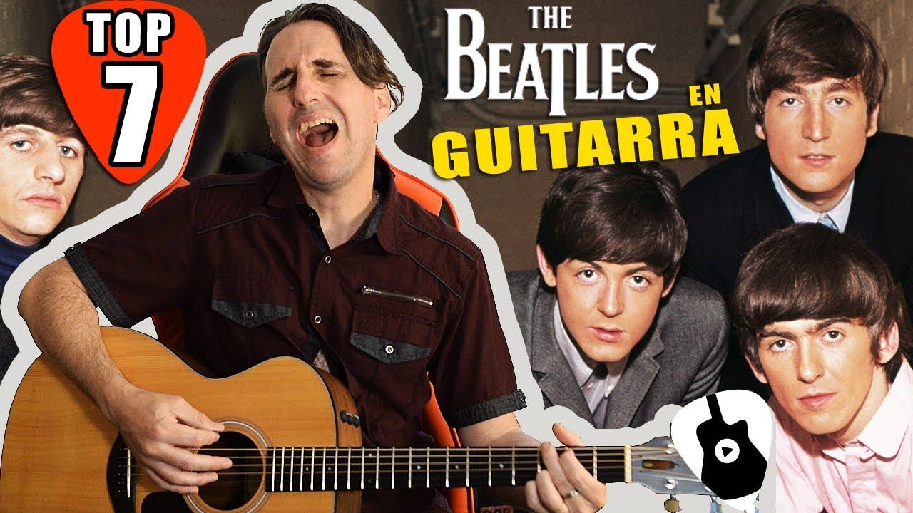 TOP 7 Mejores Canciones de The Beatles que debes saber tocar (y cantar) en guitarra acústica