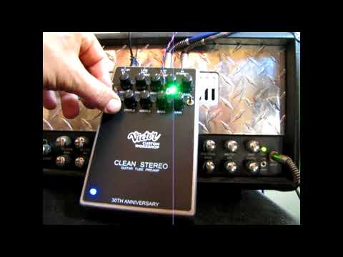 VICTOR CUSTOM CLEAN STEREO PREAMP DEMO