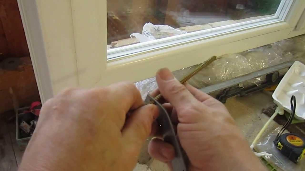 Установка пластикового окна и балконной двер, 10. - youtube.
