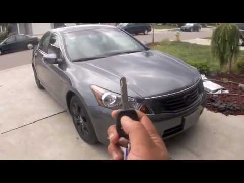 2010 Honda Accord EX L Full Tour, Start Up, Engine, Features Of Exterior  And Interior   YouTube