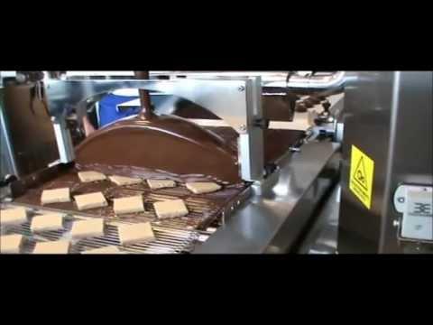 Schokoladen-Überziehmaschine-Chocolate-enrobe