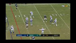 Philadelphia 4th and 2 no good Woods with the save Dallas Cowboys Vs Philadelphia Eagles