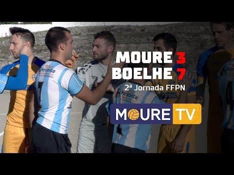 Moure 3-7 Boelhe - FFPN TC 2017/2018 - Moure TV
