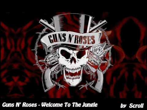Guns N Roses  Welcome To The Jungle Audiowmv