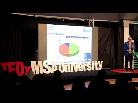 The Art of Happiness - Egyptian Perception | Ahmed Reda | TEDxMSAUniversity