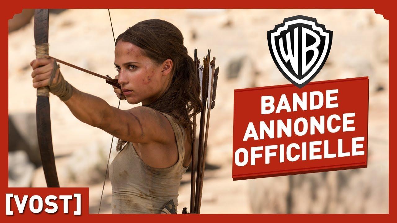 Tomb Raider - Bande Annonce Officielle 2 (VOST) - Alicia Vikander