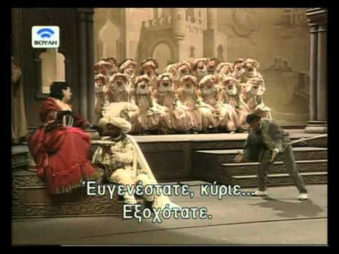 L'Italiana in Algeri - Rossini ( greek subs)