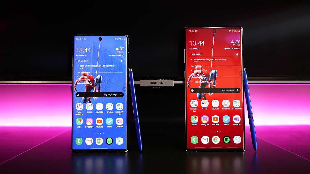 Samsung Galaxy Note 10 VS Galaxy Note10+ | When Size Matters ...