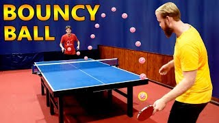 Bouncy Ball Ping Pong (crazy spin)