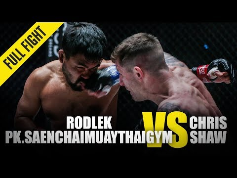 Rodlek Vs. Chris Shaw | ONE Full Fight | January 2020