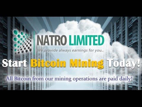 Bitcoin Cloud Mining With Natro Limited 2016 Cheap GHS