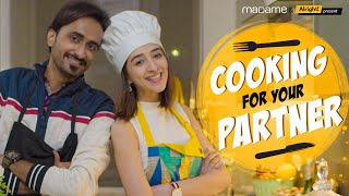 Cooking For Your Partner | पति पत्नी और खाना | ft. Kritika Avasthi & Abhinav Anand (Bade)