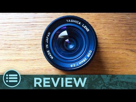 OBIETTIVO VINTAGE? • Yashica 28mm f/2.8 & Adattatore Canon EOS [Recensione]
