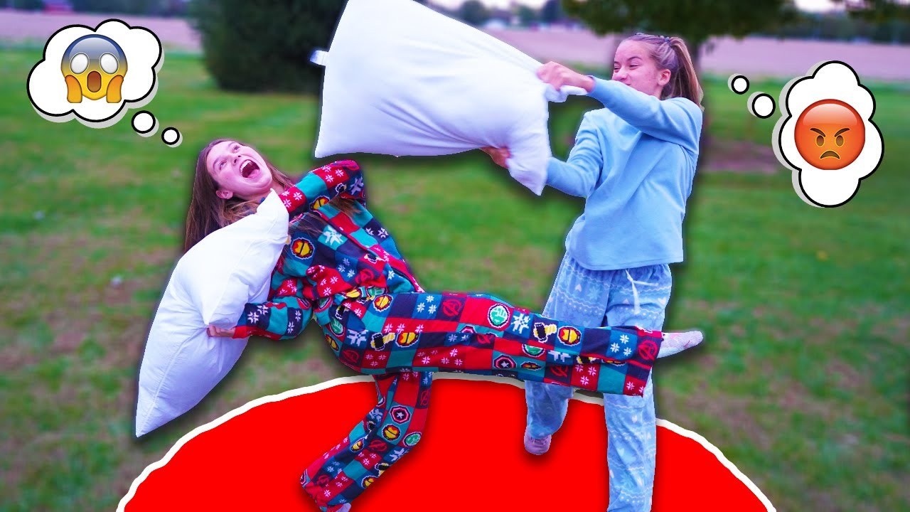 Don't Leave the Circle! Extreme Pillow Fighting!