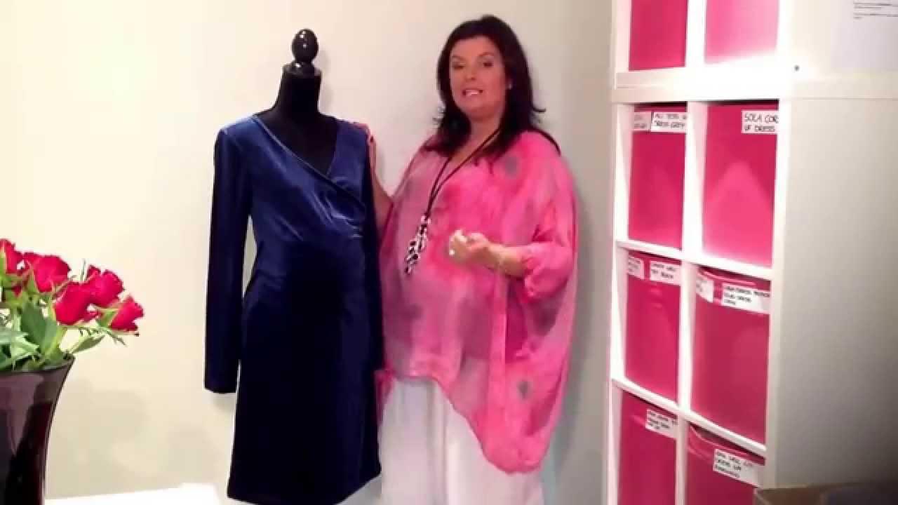 mona velvet christmas maternity dress midnight blue 35 - Christmas Maternity Dress