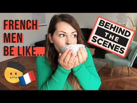 You Know You're Living With a FRENCH MAN When... What it's REALLY like to date a French man!