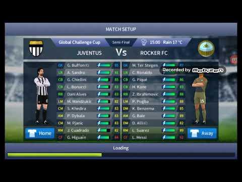 Dream League Soccer Rocker Fc vs Juventus 3-0 dls17