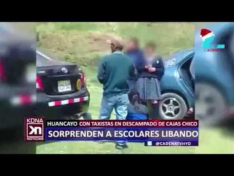 ESCOLARES LIBAN CON TAXISTAS CADENA NOTICIAS
