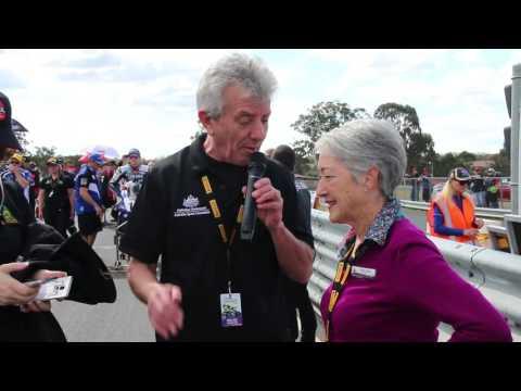 Superbikes at Morgan Park, Queensland - SDRC Mayor Tracy Dobie