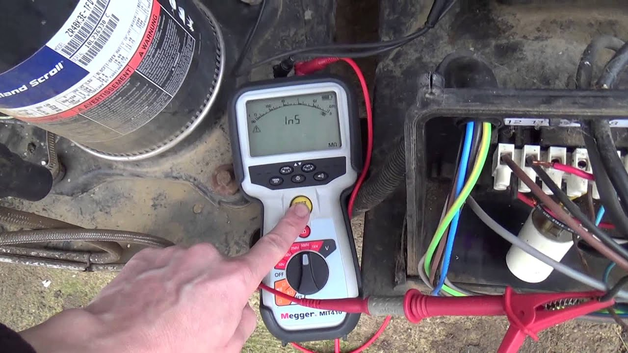 Megger Testing: Tracing Electrical short - YouTube