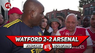 Watford 2-2 Arsenal | Emery Should Have Been Sacked In The Summer! (Claude)