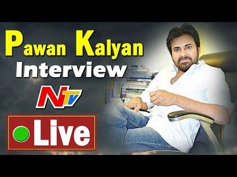 Pawan Kalyan Exclusive Interview on AP Special Status   Live    NTV