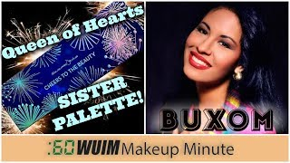 Coloured Raine Queen of Hearts SISTER Palette is Coming! Buxom Selena Lip Polish! | Makeup Minute