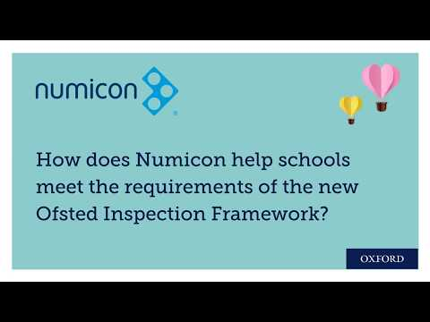 Numicon And The Ofsted Inspection Framework: Reducing Teacher Workload With Long-term Planning