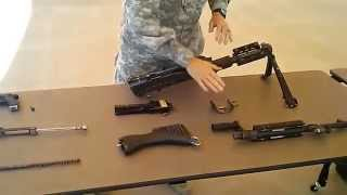 M240 Disassembly Combat Speed