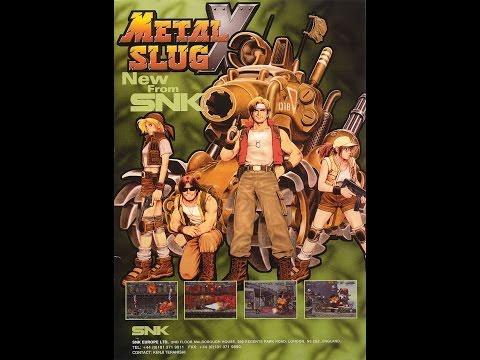 Metal Slug X Video Walkthrough