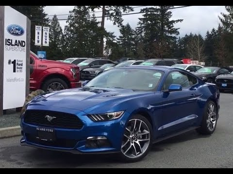 2017 ford mustang ecoboost premium review island ford youtube. Black Bedroom Furniture Sets. Home Design Ideas